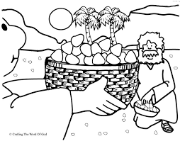 Small Picture Manna From Heaven Coloring Page Crafting The Word Of God