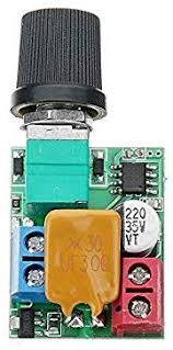 MYAMIA 3Pcs <b>Dc 5V To 35V</b> 5A Mini Motor Pwm Speed Controller ...