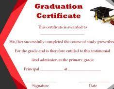 25 Best Graduation Certificate Template Images Graduation