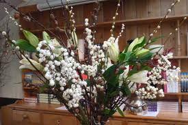 how to create a large floral winter vase arrangement flower arrangements a49