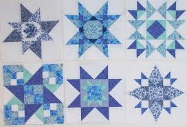 Long hard look, part 5 – Piecemeal Quilts & Family Star BOM blocks by Sandi Walton at Piecemeal Quilts Adamdwight.com