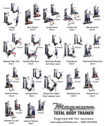 Total Body Gym Workouts Workout Routines For Women Multi Gym