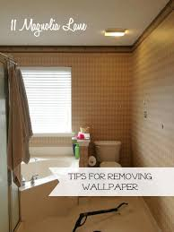 how to easily remove wallpaper tips to