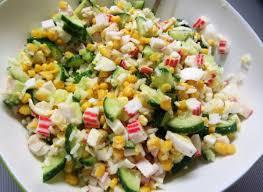 Классический крабовый салат с огурцом - InfoDrive - События ...