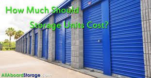 How Much Should Do Storage Units Cost All Aboard Storage