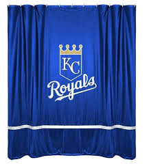 sports shower curtain city royals sidelines shower curtain by sports coverage at vintage sports shower curtain