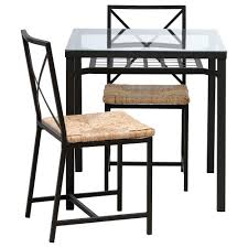 extendable dining table set: ikea dining table set is also a kind of dining room elegant brown