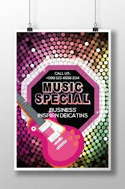 Concert Flyer Templates Free Music Party Concert Flyer Templates Template Psd Free