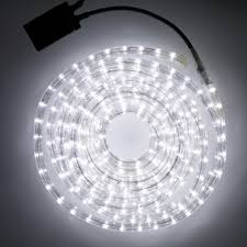 8m white outdoor led rope lights indoor outdoor use with 8 diffe lighting effects clear pvc