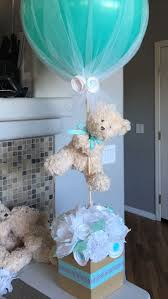Turquoise Baby Shower Decorations 17 Best Ideas About Baby Shower Centerpieces On Pinterest Baby