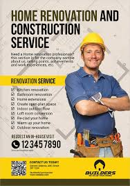 Construction Brochures Flyers Word Publisher Templates Construction