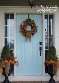 Outdoor Decorating For Fall Outdoor Fall Decorations Pinterest