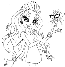 Small Picture monster high coloring pages wydowna spider Google Search
