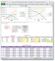 amortization calculator online online calculators excel web apps spreadsheet templates