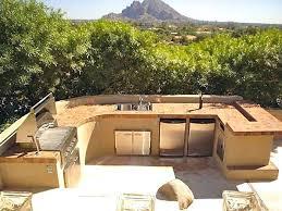 outdoor kitchen design kitchen the beautiful design of outdoor kitchen with gray floor also brown