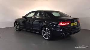 black audi a4 2013. Delighful Black FL63RKZ AUDI A4 TDI S LINE BLACK EDITION 2013 Derby Audi  YouTube Inside Black 2013
