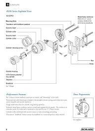 Schlage Door Handle Parts Product Brochures Schlage Door Handle