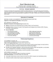 Civil Engineering Resume Objective Civil Service Resume Objective By