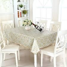 vinyl tablecloth protector clear