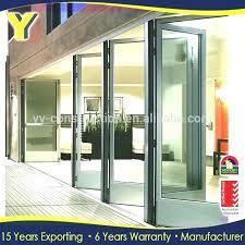 3 panel recessed sliding patio door glass folding patio exterior bi fold doors with glass internal
