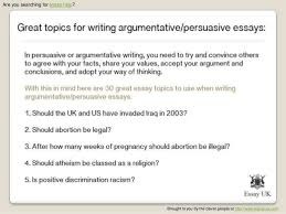 persuasive essay ideas for highschool students high school essay reading