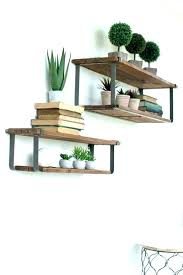 small metal shelf. Lovely Small Metal Shelf Wood And Wall Shelves Decorative