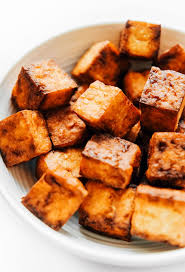 ridiculously crispy air fried tofu