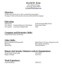 How Do You Write A Resume With No Job Experience Choose Resume No .