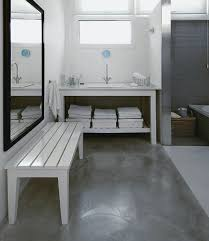 small bathroom flooring. Using Concrete Bathroom Floor And Change The Look Of Your » Ideas On Small Flooring
