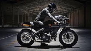 ducati scrambler custom cafe racer by fuel motorcycles