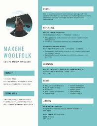 Resume Creative Template Free Creative Resume Design Template