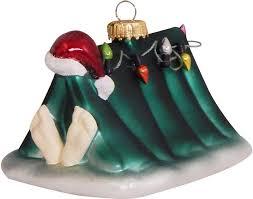 Krebs Glas Lauscha Christbaumschmuck Weihnachtsmann Im Zelt Mit Lichterkette 1 Tlg Mundgeblasen Online Kaufen Otto