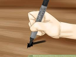 image titled get permanent marker stain out of hardwood flooring step 13