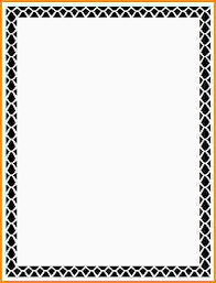 Letter Borders For Word Template Borders For Microsoft Word 7 Microsoft Word Border
