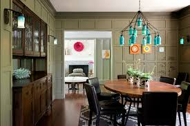 eclectic dining room designs. chic eclectic dining room design interior with traditional furniture style and rustic turquoise chandelier lighting decor designs