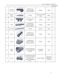 Assembly Chart For A Table Lamp Design For Manufacturing Assembly Report Table Lamp