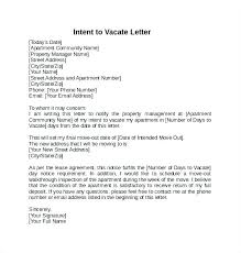 Rent Notice Letter Sample 30 Day Moving Notice Letter Mmdad Co
