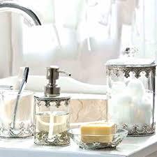 mercury glass bathroom accessories. Glass Bathroom Accessories Pink Mercury Gold Cracked Bronze Crackle . G