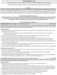 Real Estate Attorney Resume Example Real Estate Resumes Real Estate