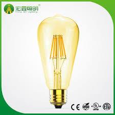 Hot Item St64 E27 2w4w6w8w Edistion Led Filament Light Lamp Bulb