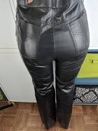 wilsons leather black pants