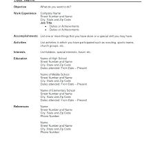 Classic Resume Templates Stunning Classic Resume Template Free Templates Mac Script Word Regard For