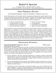 Cfo Resume Examples Inspiration Chief Financial Officer Resume Examples Goalgoodwinmetalsco