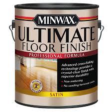 minwax satin water based 128 fl oz polyurethane