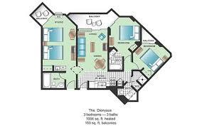 Nice Modern 3 Bedroom Myrtle Beach Hotels 7