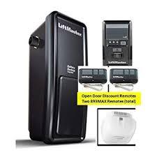8500 liftmaster elite series myq enabled garage door opener includes 2 remotes