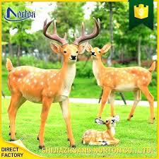 garden deer statues resin outdoor garden deer statues wonderful deer statues outdoor decor outdoor decoration life garden deer statues