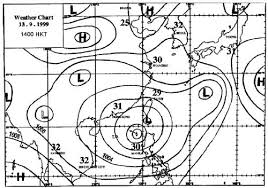 The Weather Chart Plotted By The Hong Kong Observatory For
