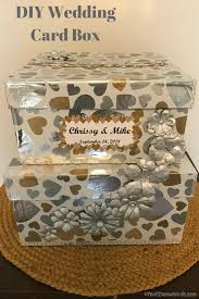 personalize your wedding by making this diy wedding card box get the instructions at