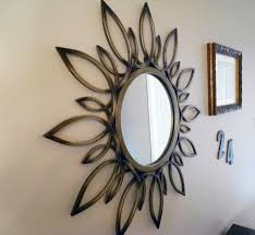 Mirrors In Decorating Home Decoration Superb Mirror Wall Decoration With Round Wall